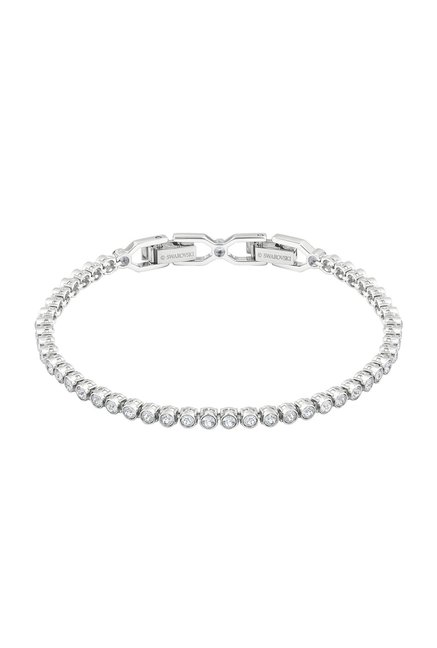cabc53e9cbe56 Buy Swarovski Emily Silver Eternity Bracelet Online At Best Price ...