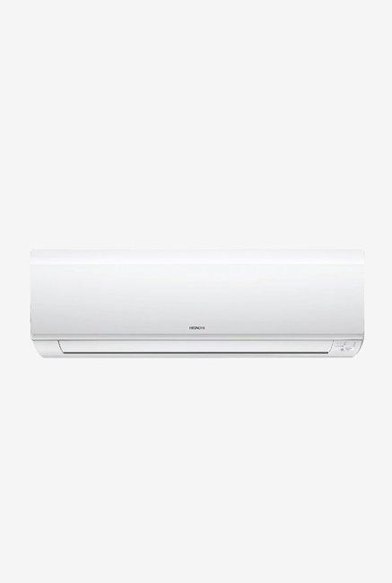 Hitachi 1 Ton Inverter 5 Star (BEE rating 2018) Kashikoi 5300X RSB512IBEA Copper Split AC (White)