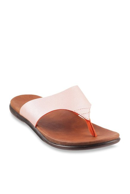 2d79f2c24 Buy Metro Light Pink Thong Sandals for Women at Best Price   Tata CLiQ