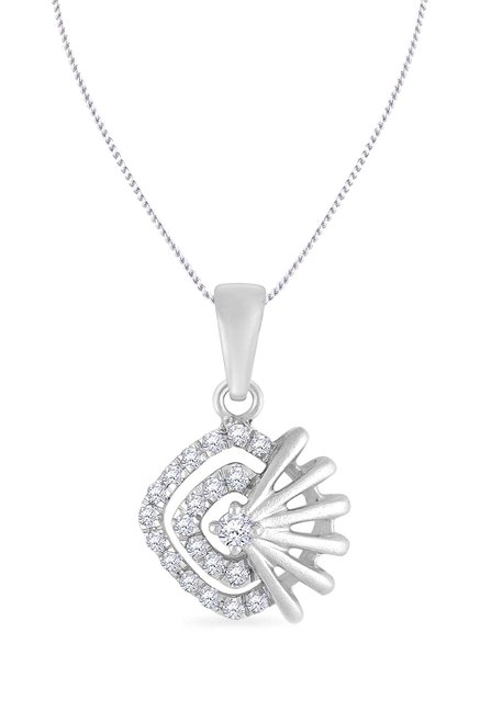 Buy malabar gold and diamonds 950 platinum 011 ct diamond pendant malabar gold and diamonds 950 platinum 011 ct diamond pendant aloadofball
