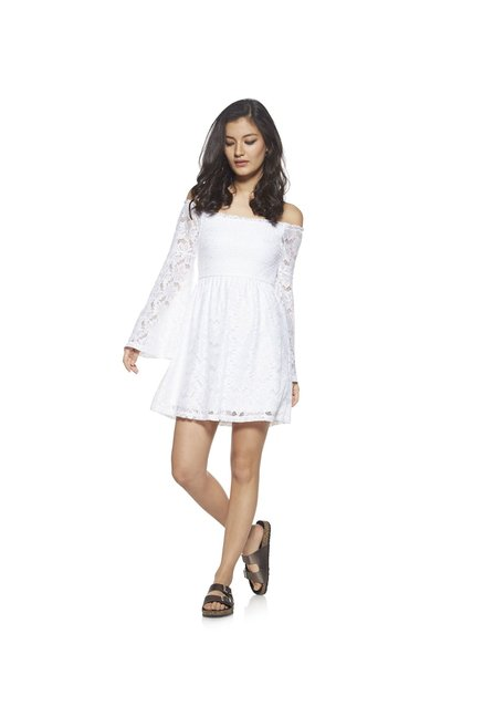 Nuon by Westside White Lace Dress