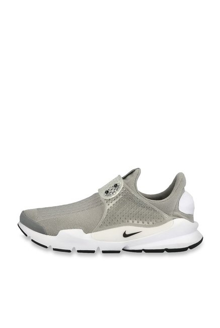 new style 11960 0f241 Nike Sock Dart Grey Running Shoes