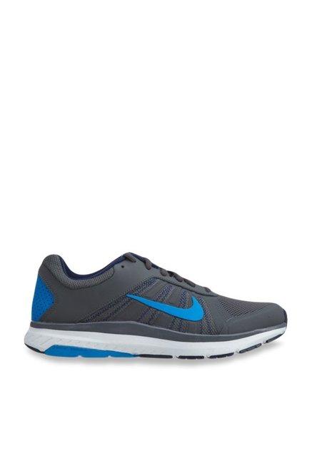 bd0d21f369d Buy Nike Dart 12 MSL Dark Grey Running Shoes for Men at Best Price   Tata  CLiQ