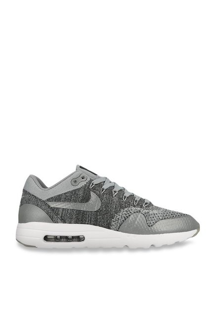 official photos 00afc 8a295 Buy Nike Air Max 1 Ultra Flyknit Wolf Grey Running Shoes for ...