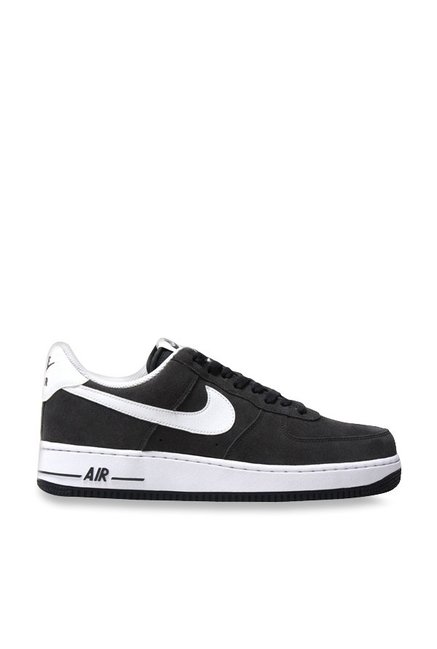 e6aed53adcb Buy Nike Air Force 1 07 Anthracite   White Sneakers for Men at Best ...
