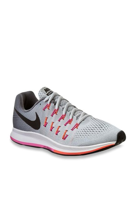 official photos ceec7 38cc5 Buy Nike Air Zoom Pegasus 33 Light Grey Running Shoes for ...