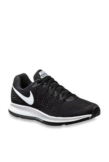 separation shoes c5eda 6cea9 Buy Nike Air Zoom Pegasus 33 Black Running Shoes for Women ...