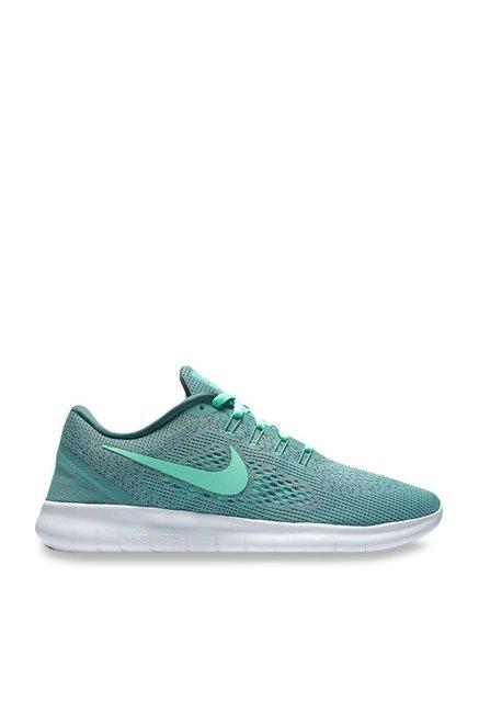 b6a9f916cc Buy Nike Free RN Green Running Shoes for Women at Best Price @ Tata CLiQ