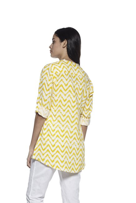 Utsa by Westside Yellow Kurti