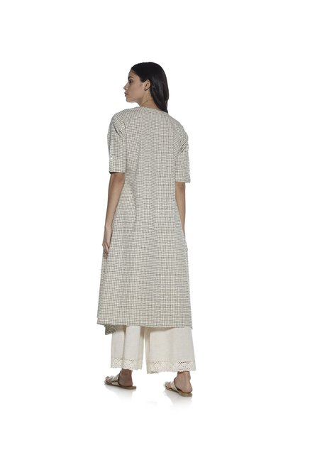 Utsa by Westside Off White A-line Kurta