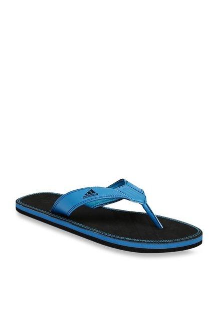 01b77ff2d Buy Adidas Brizo 4.0 MS Blue   Black Flip Flops for Men at Best Price    Tata CLiQ