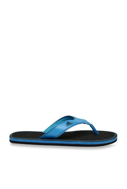 ac70034de5ae Buy Adidas Brizo 4.0 MS Blue   Black Flip Flops for Men at Best ...