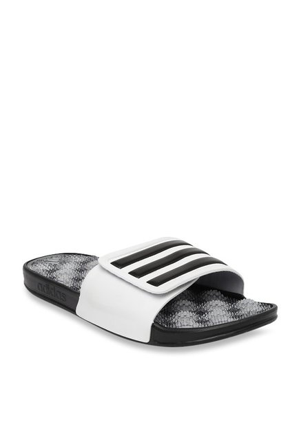 a427c8c10 Buy Adidas Adissage 2.0 Black   White Casual Sandals for Men at Best Price    Tata CLiQ