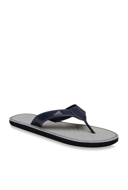 8f0d525df Buy Adidas Brizo 4.0 MS Navy   Grey Flip Flops for Men at Best Price   Tata  CLiQ