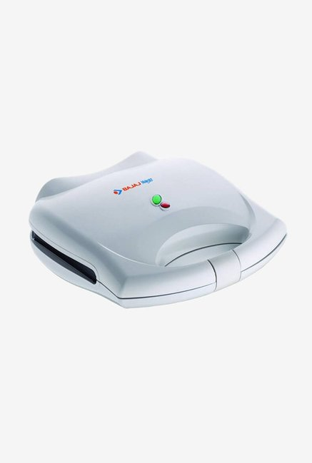 Bajaj Majesty New SWX 3 750W 2 Slice Sandwich Toaster  White