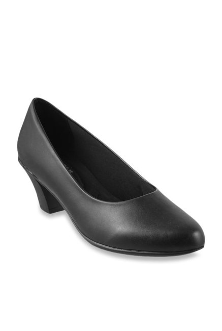 e290537d985 Buy Mochi Black Formal Pumps for Women at Best Price   Tata CLiQ