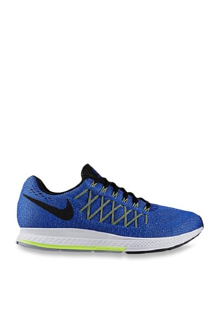 662716d420c Buy Nike Air Zoom Pegasus 32 Blue   Black Running Shoes for Men ...