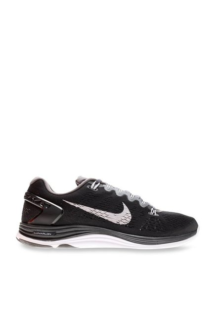 0dd57bc0ca300 Buy Nike Lunarglide 5 Black Running Shoes for Women at Best Price   Tata  CLiQ
