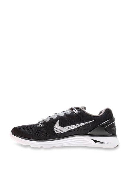 design de qualité ad0c8 c3a75 Buy Nike Lunarglide 5 Black Running Shoes for Women at Best ...