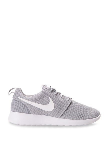 4ca502172 Buy Nike Roshe One Wolf Grey   White Sneakers for Men at Best ...