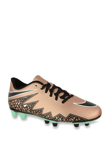 31db69487f4 Buy Nike Hypervenom Phade II FG Rose Gold   Black Football Shoes for Men at  Best Price   Tata CLiQ