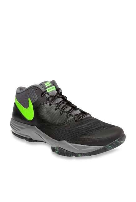 sports shoes 95354 2bc6e Buy Nike Air Max Emergent Black & Grey Basketball Shoes for Men at Best  Price @ Tata CLiQ