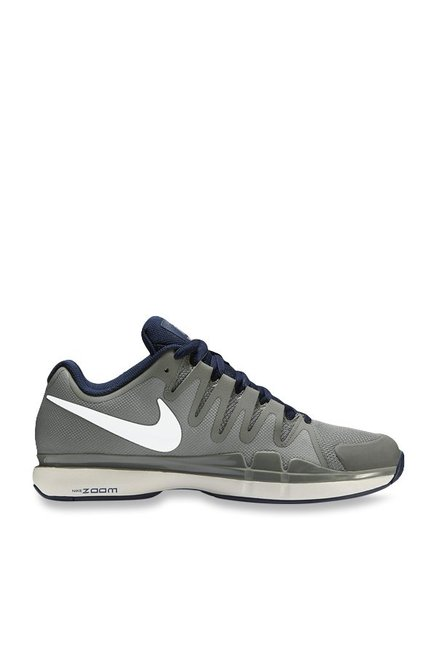 8bed8b6f33a9 Buy Nike Zoom Vapor 9.5 Tour Dark Grey   White Tennis Shoes for ...