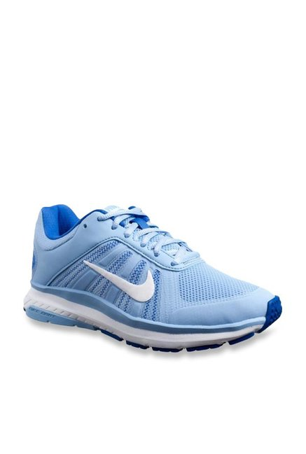 4779cb9560a0 Buy Nike Dart 12 MSL Aluminium Blue Running Shoes for Women at Best Price    Tata CLiQ