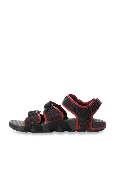 202ec4d7f863 Buy Nike Air Deschutz Black   Team Red Floater Sandals for Men at ...