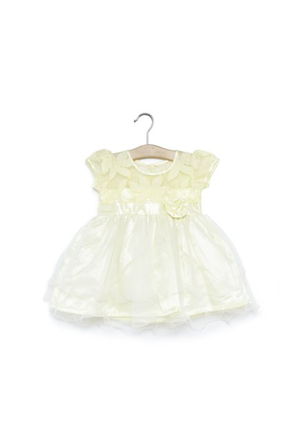 2424dd17ee5f Buy Baby HOP by Westside Yellow Dress for Infant Girls Clothing ...