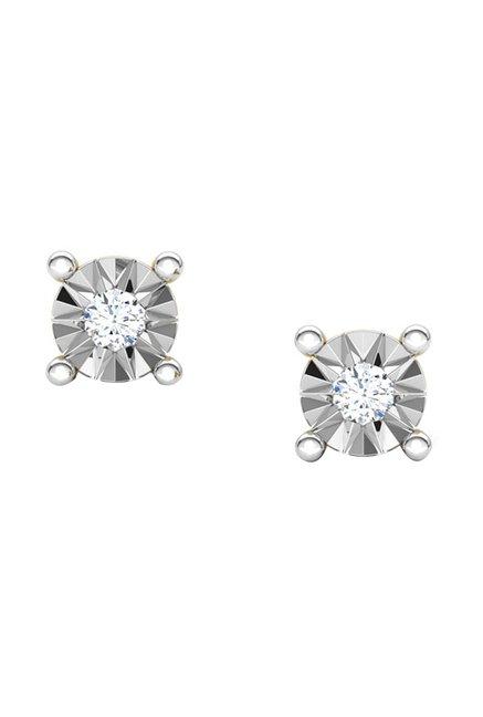 3593130e6 Buy CaratLane Emily 18k Gold & 0.03 ct Diamond Earrings Online At Best Price  @ Tata CLiQ