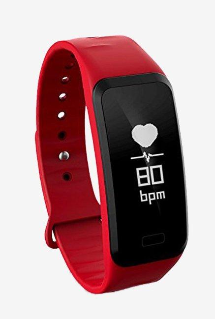 WEARFIT WP108 Smart Bracelet Fitness Tracker (Red)
