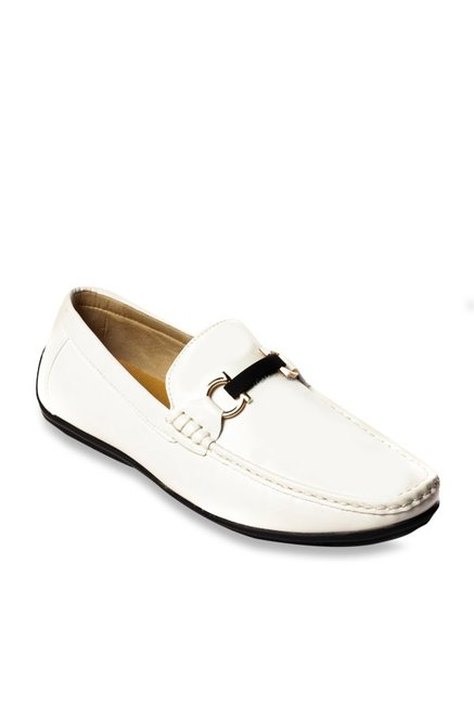 d4f196cb96f Buy Pavers England White Casual Loafers for Men at Best Price   Tata CLiQ
