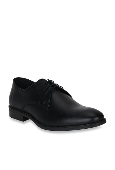Bond Street by Red Tape Black Derby Shoes