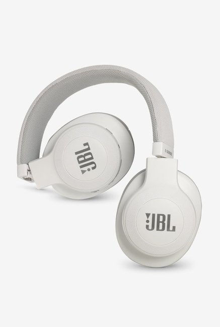 0d6b41f95ad Buy JBL E55BT Over the Ear Bluetooth Headphones (White) Online At ...