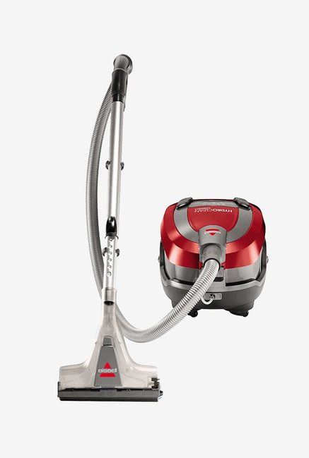Bissell Hydroclean Compact 1991E 1600 W Canister Vacuum Cleaner (Red)