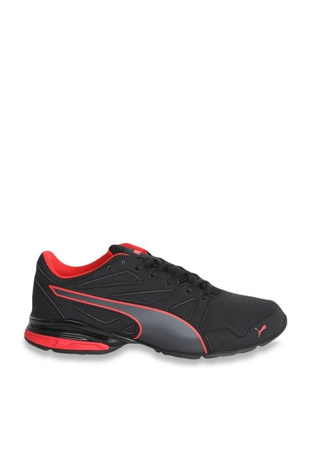 a34c42b3f192 Buy Puma Tazon Modern SL FM Black   Flame Scarlet Running Shoes for Men at  Best Price   Tata CLiQ