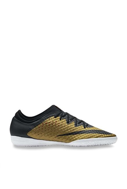 los angeles ccbc2 88865 Buy Nike Mercurialx Finale IC Golden & Black Football Shoes ...