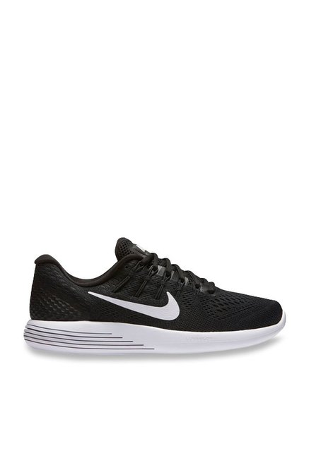f04d00bf894a Buy Nike Lunarglide 8 Black Running Shoes for Women at Best Price   Tata  CLiQ