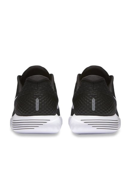 online store 630a6 44bc2 Buy Nike Lunarglide 8 Black Running Shoes for Women at Best ...