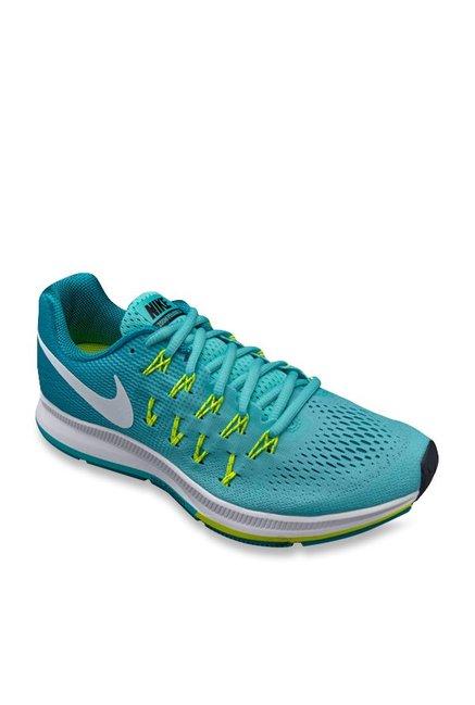 Buy Nike Air Zoom Pegasus 33 Sea Green Running Shoes for Women at Best  Price   Tata CLiQ 9f921df71b