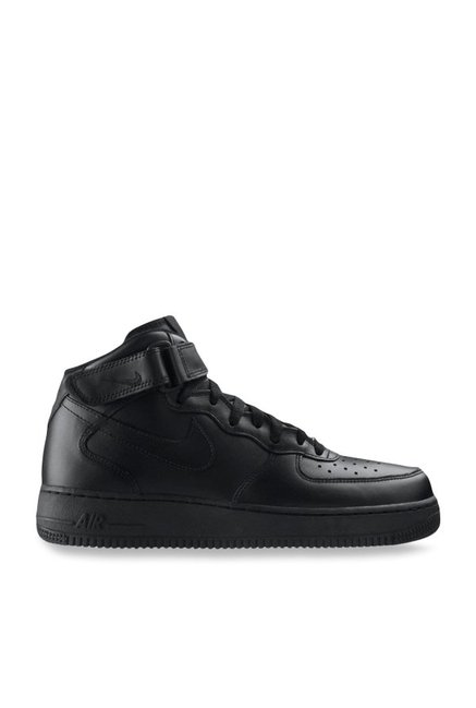 Buy Nike Air Force 1 Mid 07 Black Ankle