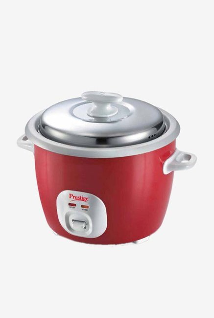 Prestige Cute 1.8-2 L Delight Electric Rice Cooker (Silky Red)