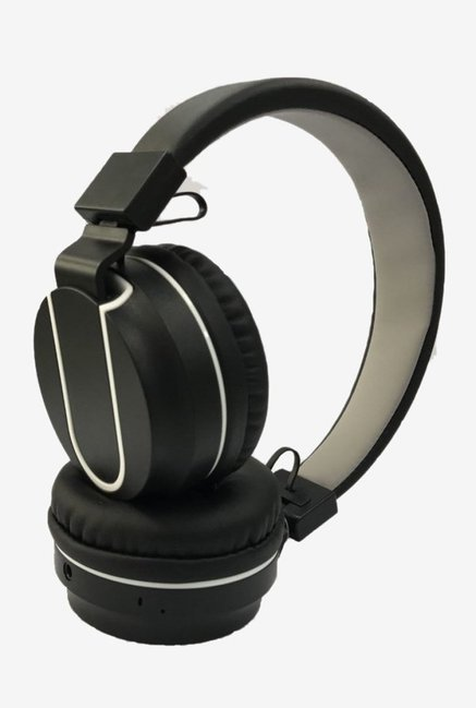 385ba5dcc77 Buy Syska POP Over the Ear Headphone (Black/White) Online At Best Price @  Tata CLiQ