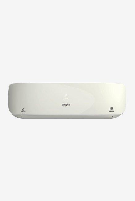 Whirlpool 1.5 Ton Inverter 5 Star  BEE Rating 2018  3D Cool SAI18K58DP0 Split AC  White