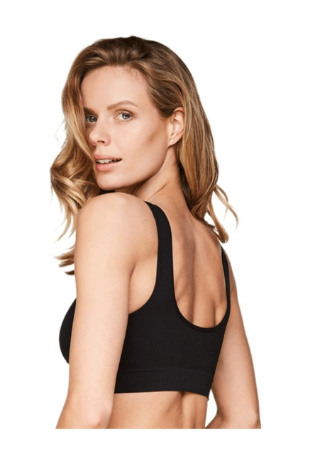 Hunkemoller Black Under Wired Non Padded Basic T-Shirt Bra