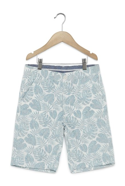 77dd657d630 Buy Y F by Westside White Pure Cotton Shorts for Boys Clothing Online    Tata CLiQ