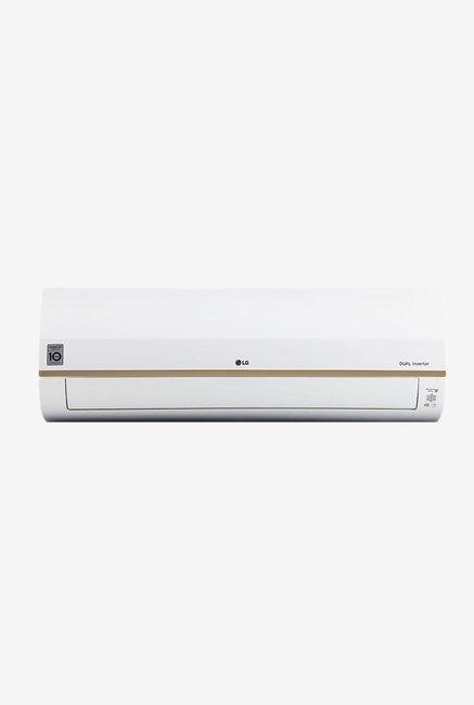 LG 1.5 Ton Inverter 5 Star (BEE Rating 2018) JS-Q18TLZD Copper Split AC (White)