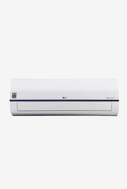 LG 1.5 Ton Inverter 5 Star (BEE Rating 2018) JS-Q18JUZD Copper Split AC (White)
