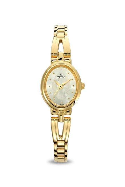 Buy Titan 2594ym01 Karishma Revive Analog Watch For Women At Best Price Tata Cliq